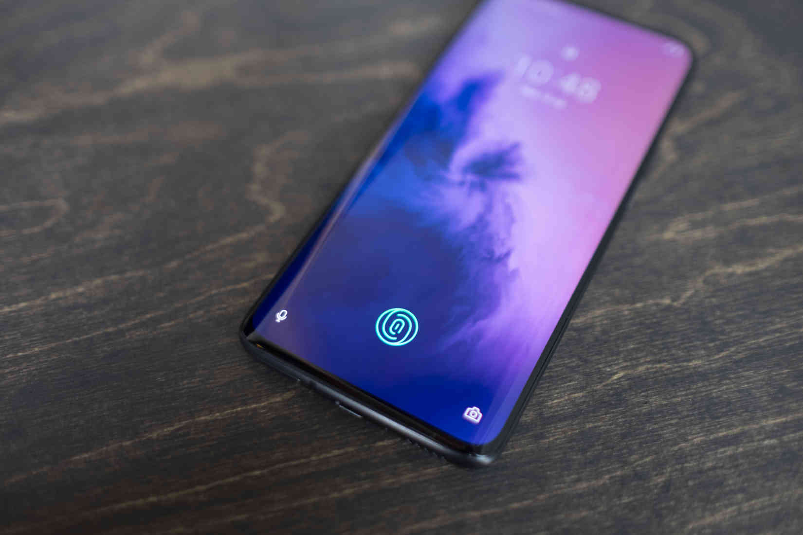 In-display fingerprint sensor on OnePlus 7 Pro
